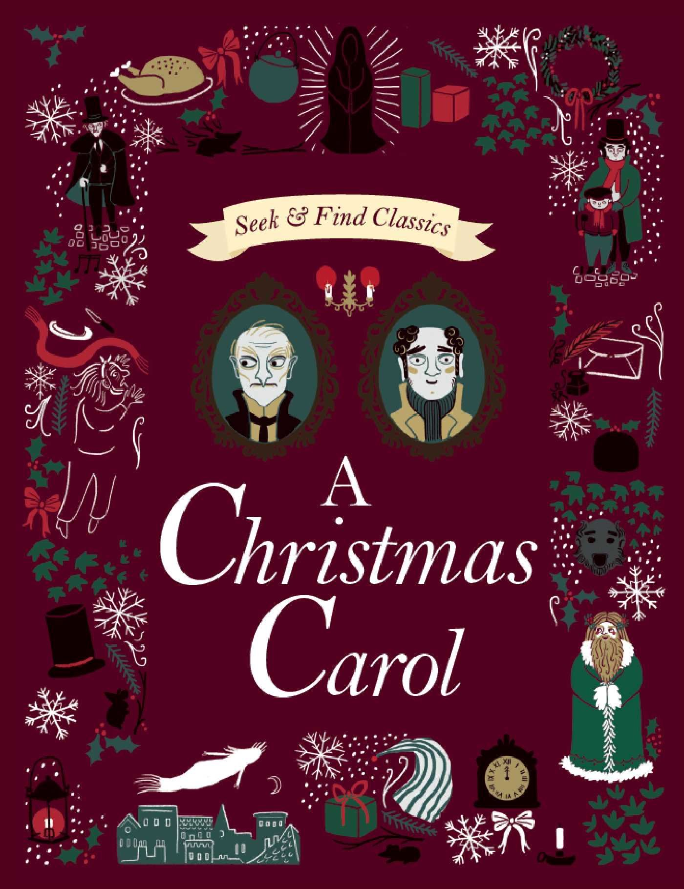 A Christmas Carol Characters.A Christmas Carol Seek And Find Classics Sarah Powell