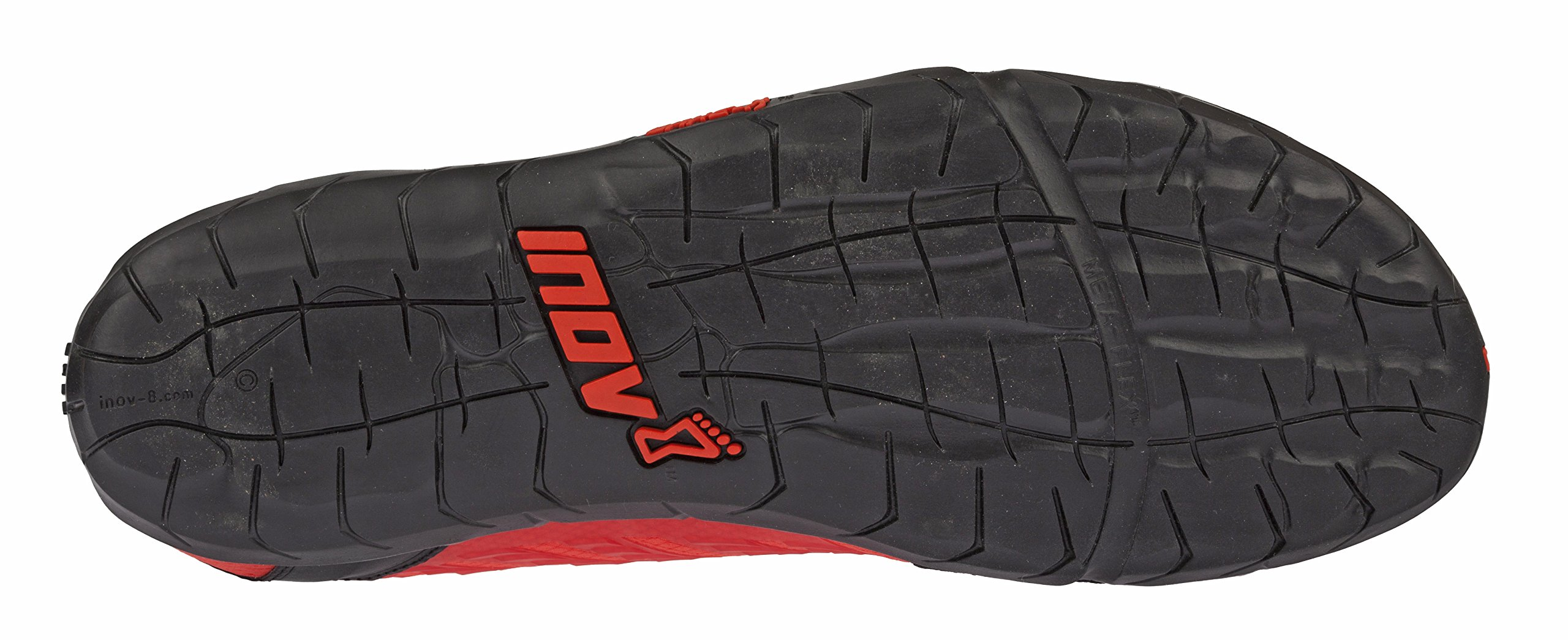 Inov-8 Mens Bare-XF 210 V2 - Barefoot Minimalist Cross Training Shoes - Zero Drop - Wide Toe Box - Versatile Shoe for Powerlifting & Gym - Calisthenics & Martial Arts - Black/Red 8 M US by Inov-8 (Image #4)