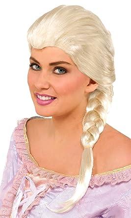 Amazon.com  Forum Novelties Women s Braided Princess Wig 4198c133f