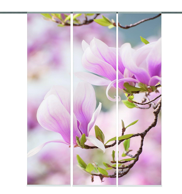 Hervorragend Amazon.de: Home fashion 88734-123 Schiebevorhang Digitaldruck  OX27