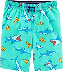 Carters Little Boys Swim Trunk