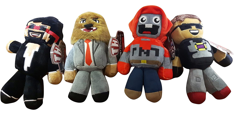 Roblox Dantdm Tube Heroes Plush Toys: Amazon co uk: Toys & Games