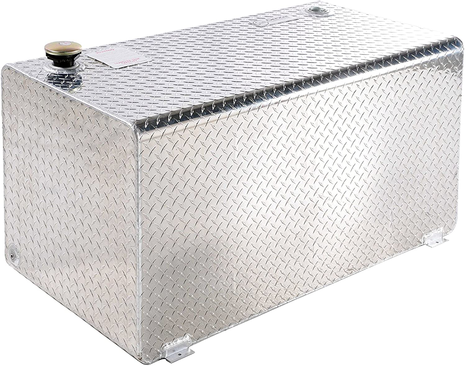Dee Zee DZ91753 Short Rectangle Transfer Tank-Aluminum