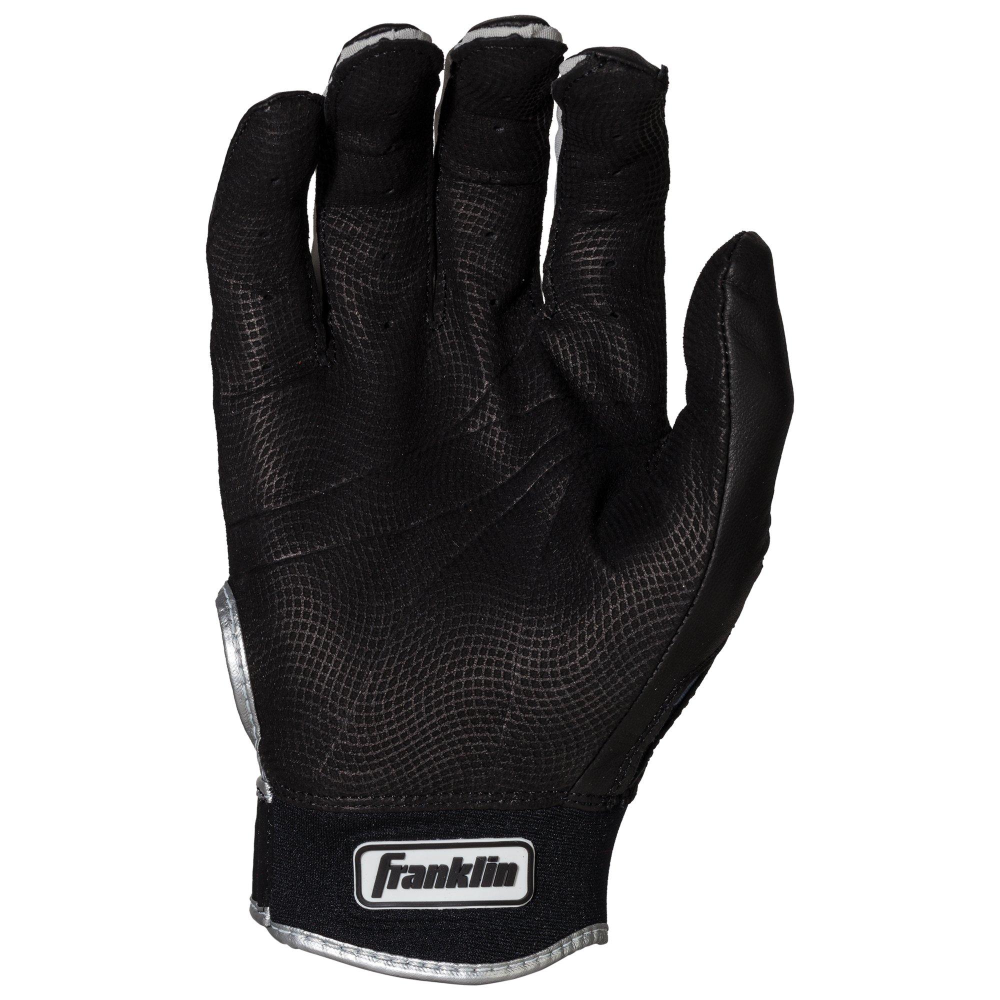 Franklin Sports CFX Pro Digi Series Batting Gloves Black/Black Camo Adult Small by Franklin Sports (Image #3)