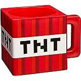 Minecraft bloc tasse TNT 290ml de plastique Jeu rouge