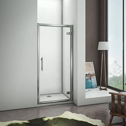 Porte De Douche 100x185cm Pivotante En Niche Modele De Nenli Amazon Fr Bricolage