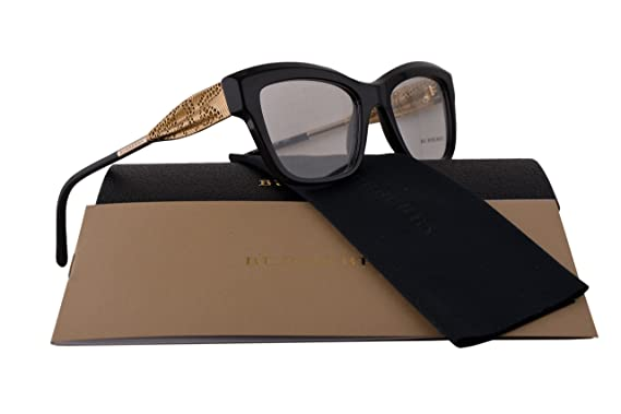 0f9c90f4ae6 Amazon.com  Burberry BE2211 Eyeglasses 51-19-140 Black 3001 BE 2211 ...