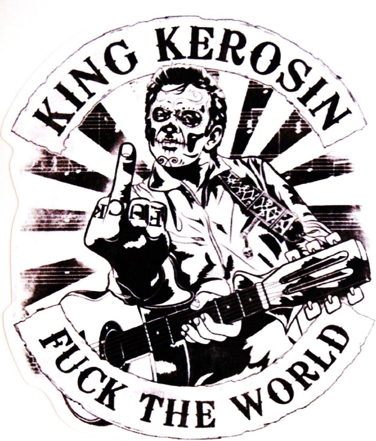 King Kerosin  AUTOCOLLANT STICKER