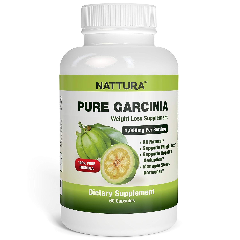 Pure Garcinia All Natural 100 Pure Garcinia Cambogia Formula 1000mg Garcinia Extract Per Serving