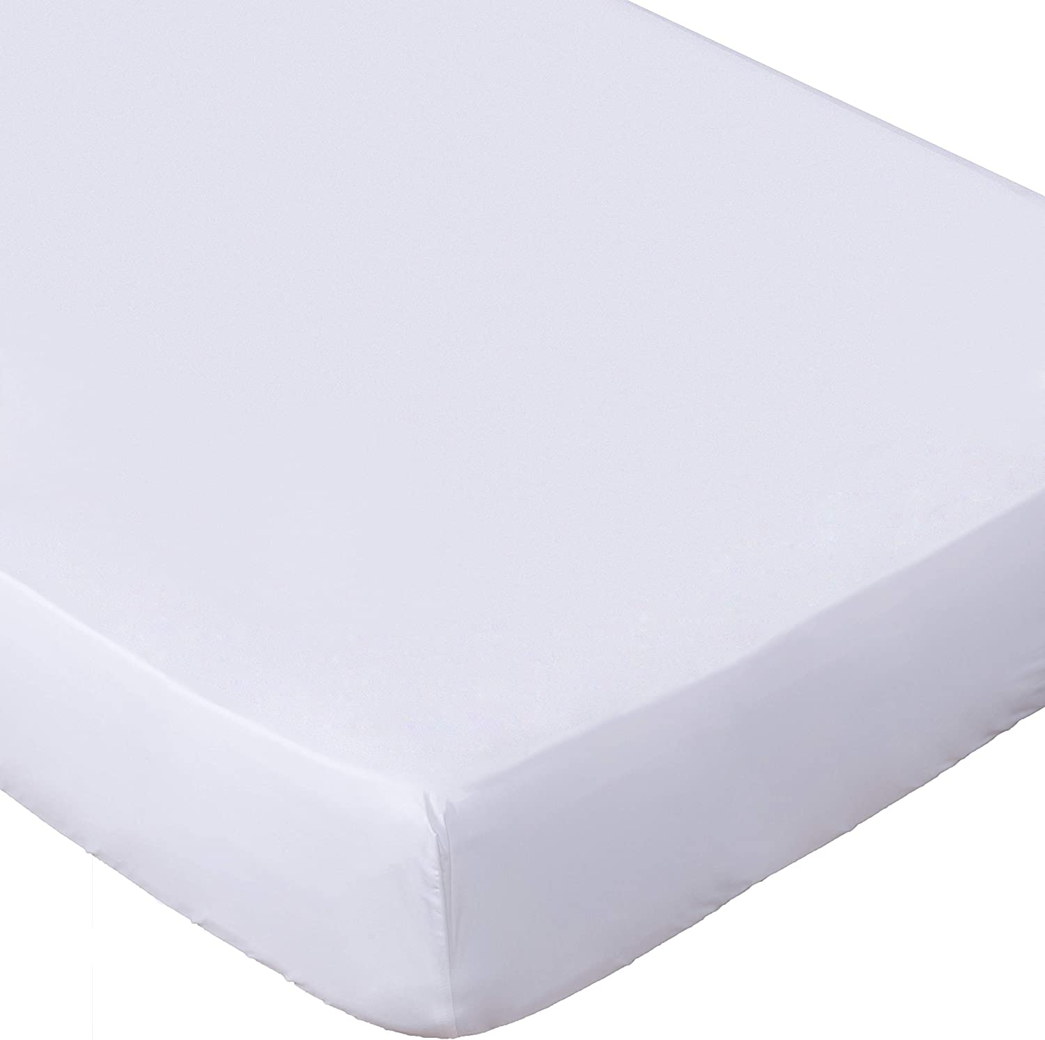 Fitted Sheet for Bed Mattress Microfiber Wrinkle  Fade Stain Resistant Lux Decor
