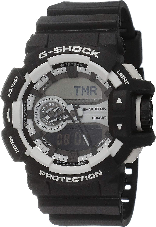 Casio G-Shock GA-400-1A Multi-Dimensional Analog Digital Watch