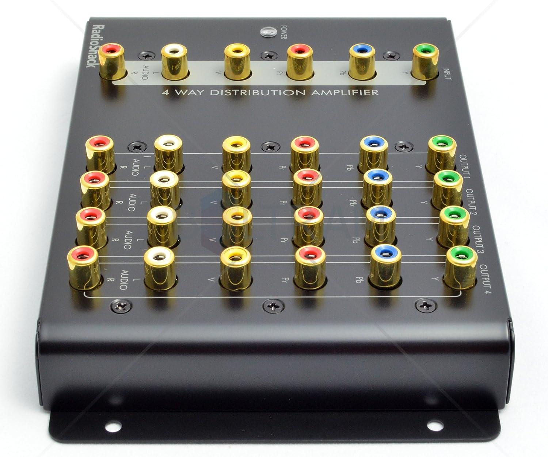 RadioShack 4-Way Component Video Distribution Amplifier 15-311