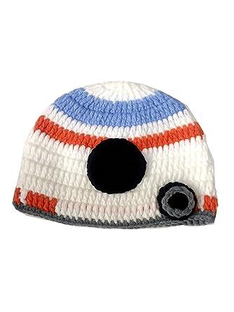 Amazon.com  Star War Handmade Crochet Hat Beanie Princess Leia Stormtrooper  Chewbacca Boba Fett BB-8 BB8  Clothing b526c22bb89