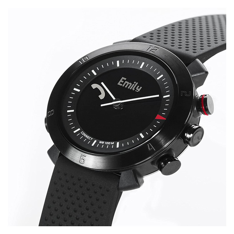 Cogito Classic - Smartwatch LCD con patanlla táctil, Negro