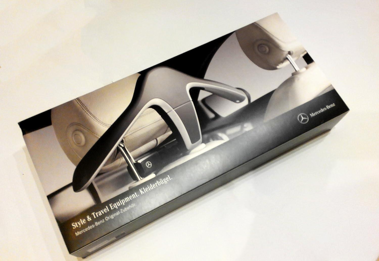 Genuine Mercedes Benz Style /& Travel Headrest Universal Hook Coat Jacket Hanger