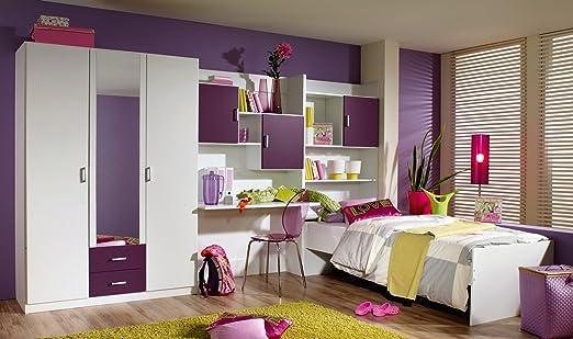 Matelpro-Chambre enfant complète CINDY-Avec tiroir-lit ...