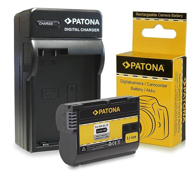 Cargador + Batería EN-EL15 para Nikon 1 V1: Amazon.es: Electrónica
