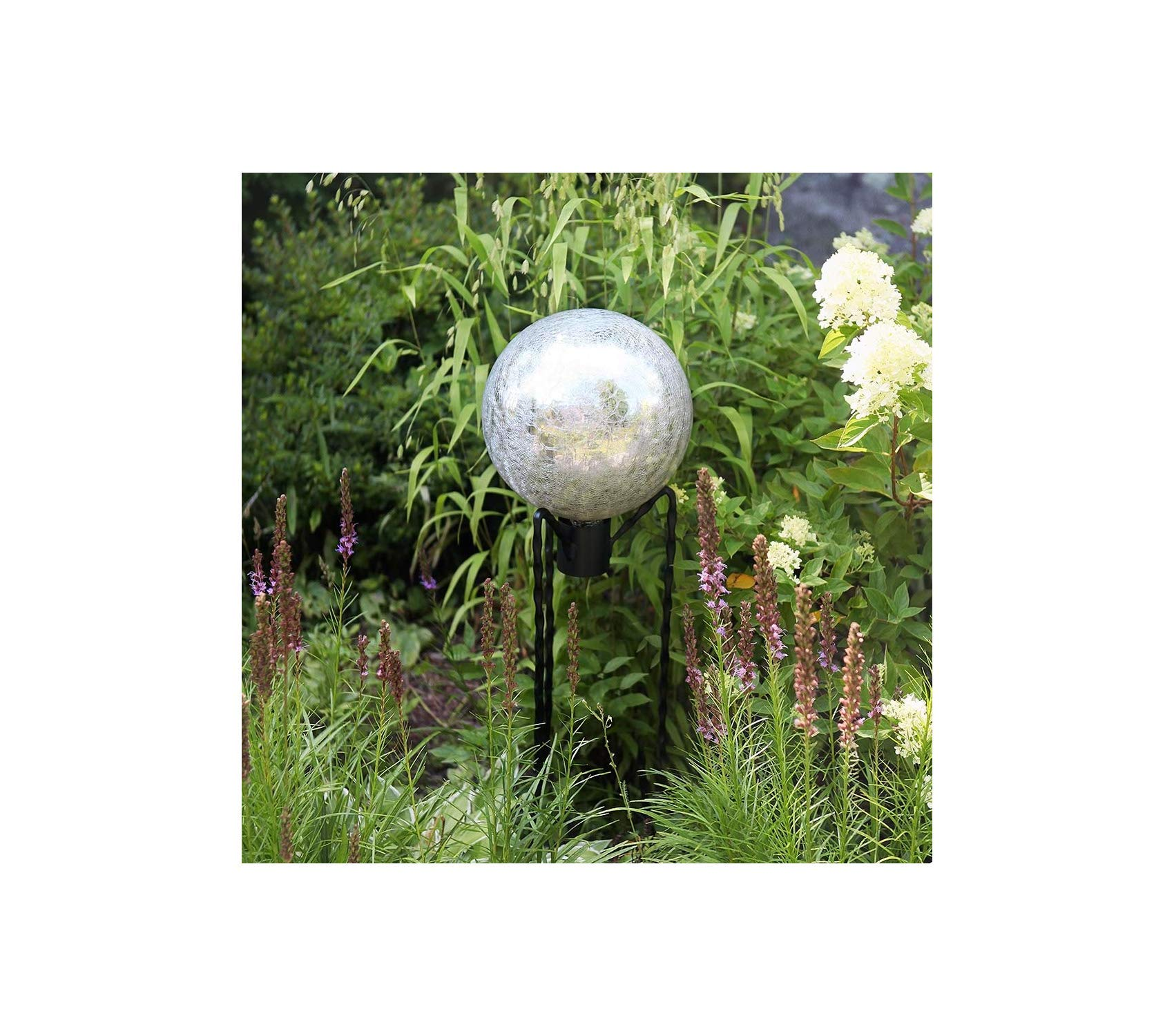Аchlа Outdoor Garden Backyard Décor Designs Gazing Globe Ball Stand, 31-Inch H Spiked by Аchlа (Image #4)