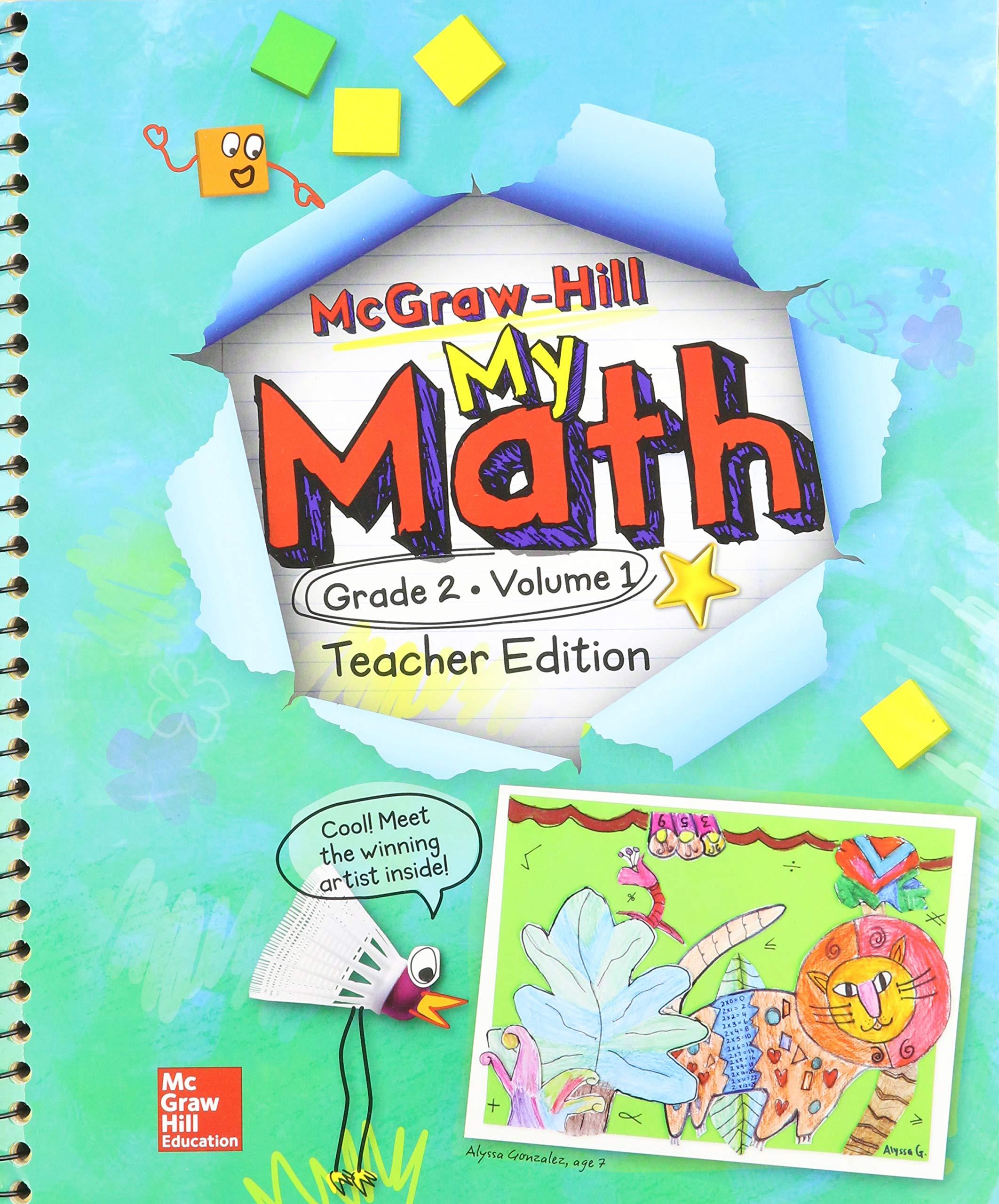 Download My Math - Grade 2 Volume 1 Teacher Edition pdf