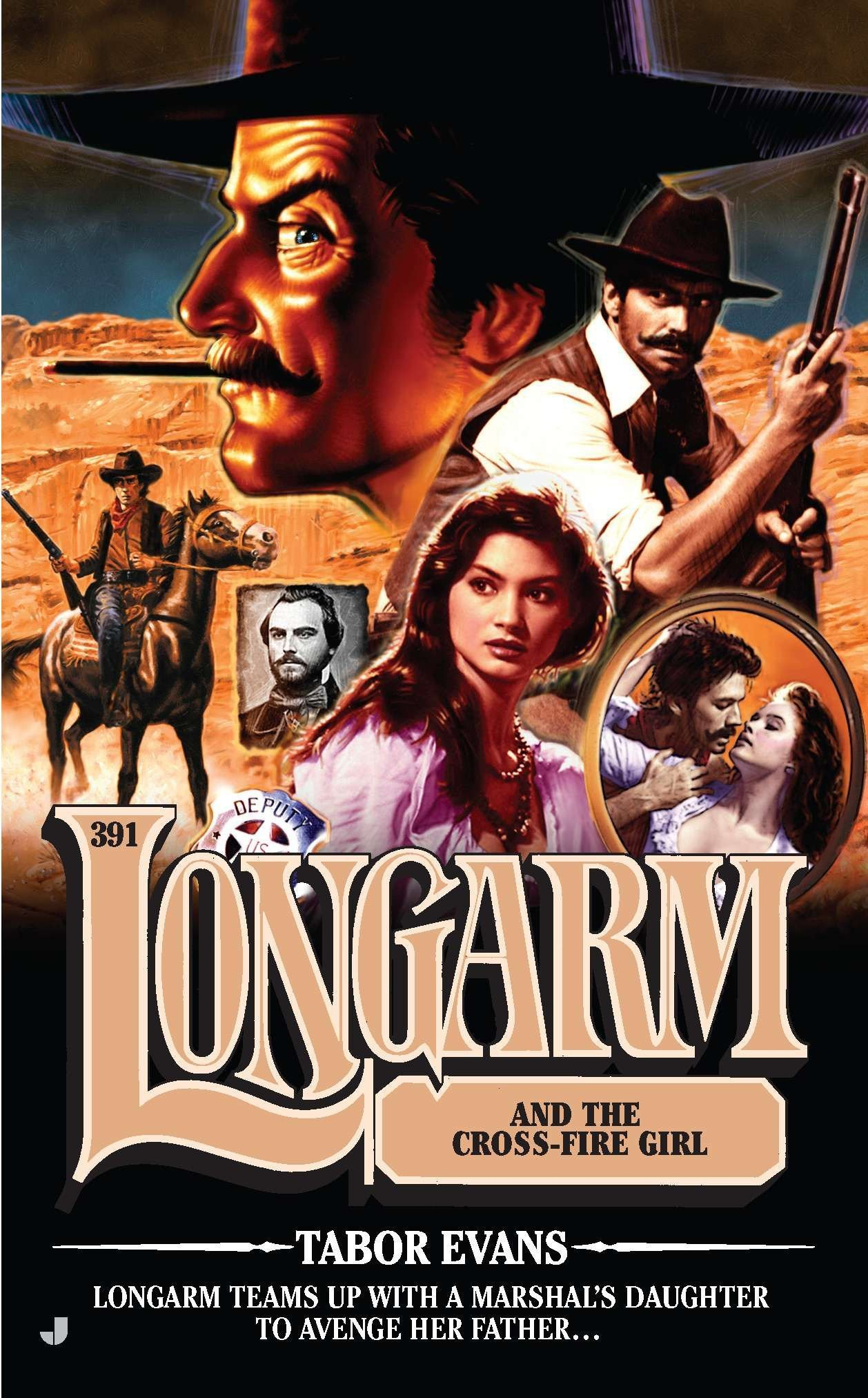 Longarm #391: Longarm and the Cross Fire Girl pdf