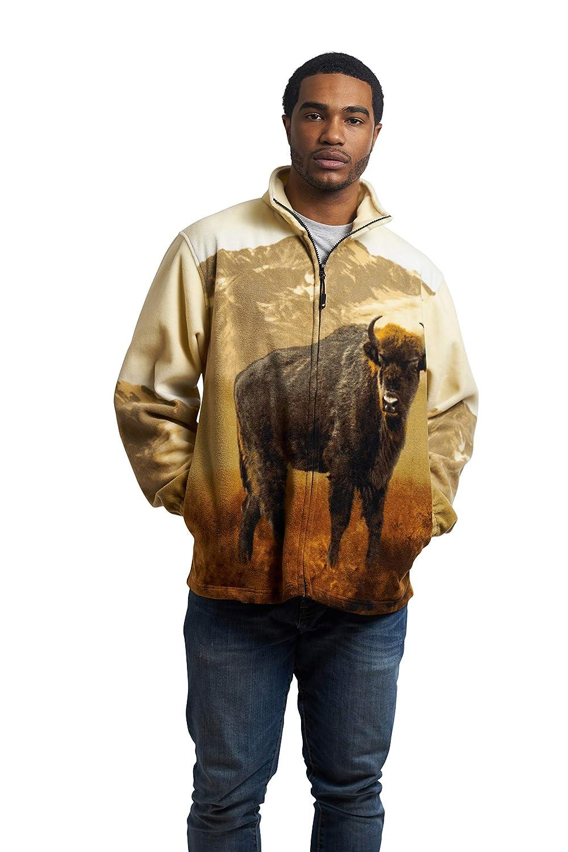 TrailCrest Mens Active Rlixio Animal Print Jacket