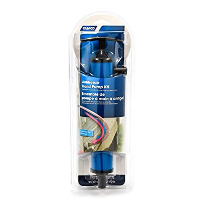 Camco Antifreeze Hand Pump Kit- Pumps Antifreeze Directly Into the RV Waterlines and Supply Tanks, Makes Winterizing Simple and Easier (36003): Automotive