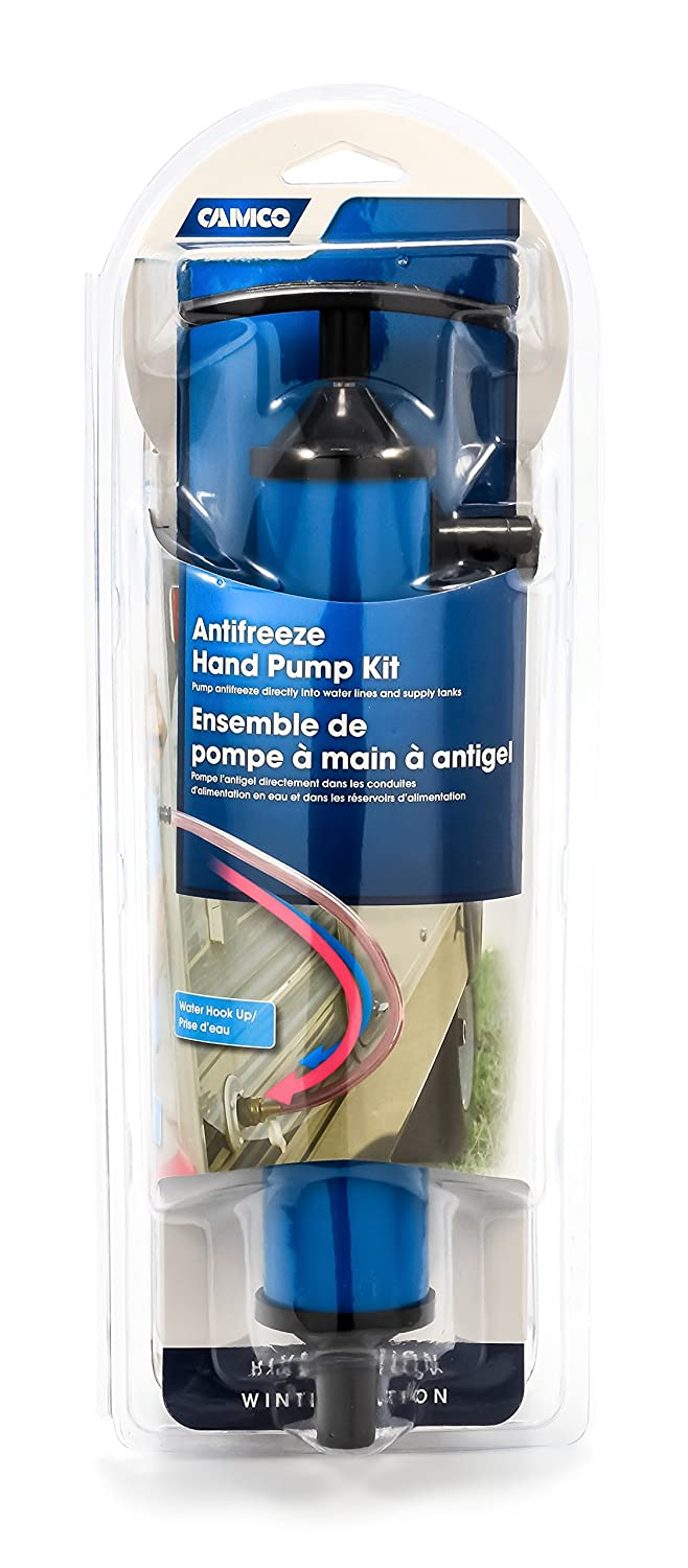 Camco Antifreeze Hand Pump Kit- Pumps Antifreeze Directly Into the RV Waterlines and Supply Tanks,Makes Winterizing Simple and Easier (36003)