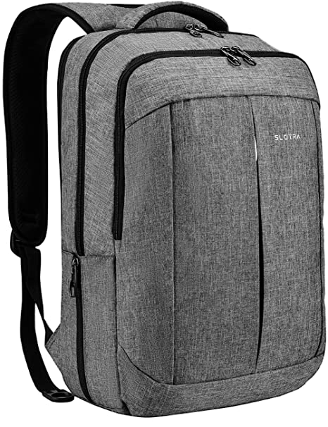 2501be2106 Amazon.com  SLOTRA 17 Inch Laptop Backpack for Men Women Business ...