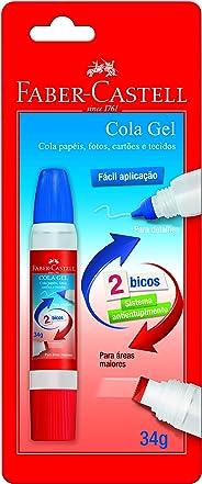 Cola Gel 2 Bicos, Faber-Castell, SM/8140GEL, 34g
