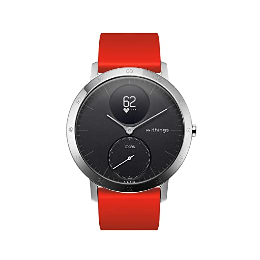 Withings Bracelet en Cuir Mixte Adulte, Marron: Amazon.fr: Sports et Loisirs