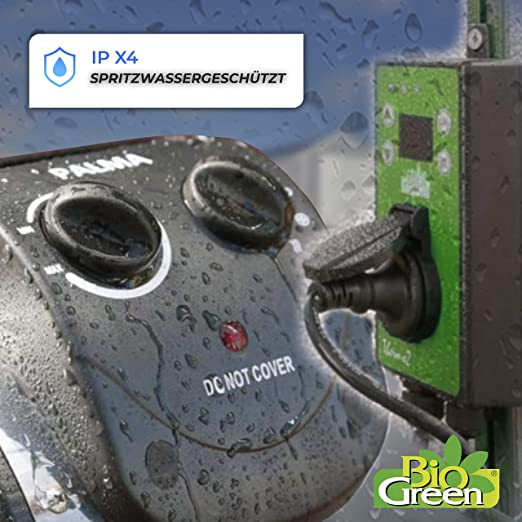 BioGreen Heizlüfter Palma mit digital Thermometer Thermo-2