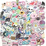 156 Pcs Cute Stickers,Laptop and Water Bottle Decal Sticker Pack for Teens, Girls, Women Vinyl Stickers Waterproof (Pink…
