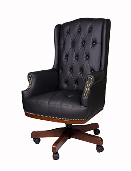 b7ccd6b7a224 Image Unavailable. Image not available for. Colour  Fine Chairs LUXURY  MANAGERS EXECUTIVE DIRECTORS CHESTERFIELD ANTIQUE CAPTAIN STYLE PU LEATHER  OFFICE ...