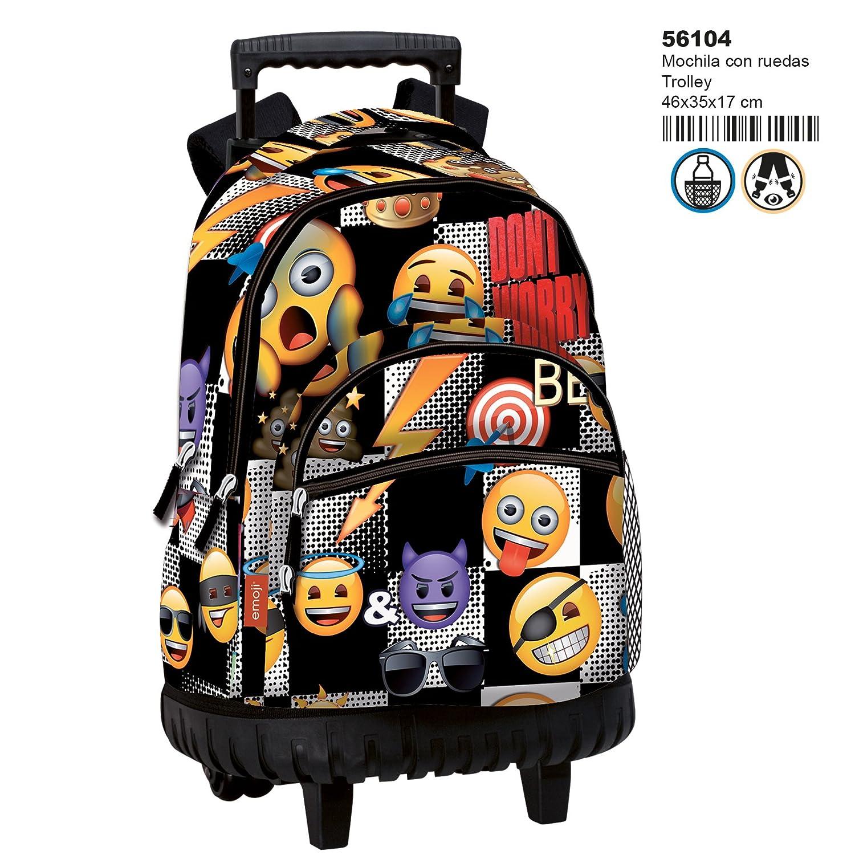 46 cm Montichelvo Trolley Em Sticker Travel Tote Multicolour