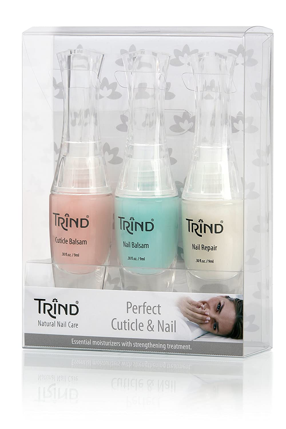 Amazon.com : Trind Perfect Cuticle and Nail Kit : Hand And Nail Care ...