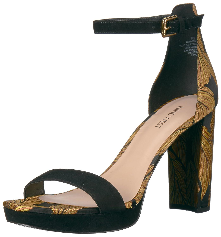 Nine West Women's Dempsey Fabic Heeled Sandal