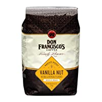 Deals on Don Franciscos Vanilla Nut Flavored Whole Bean Coffee 28oz
