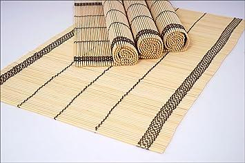 Bambus Platzset 30 X 45 Cm 4er Set Platzdeckchen Tischdeko