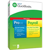 QuickBooks Pro 2015 Plus Payroll - 1 Year Subscription (PC)