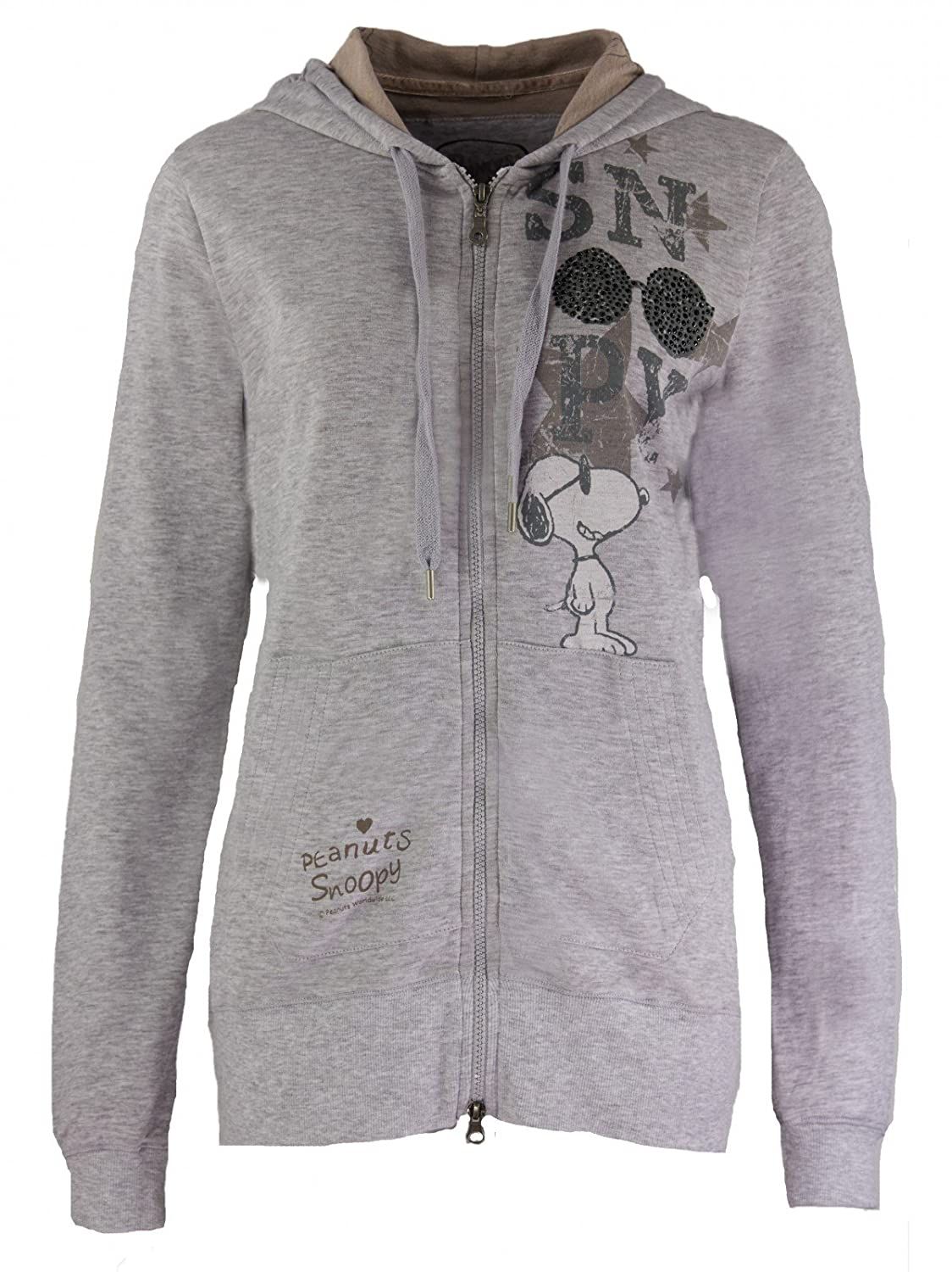 Princess goes Hollywood Damen Peanuts Snoopy Kapuzenjacke Cool