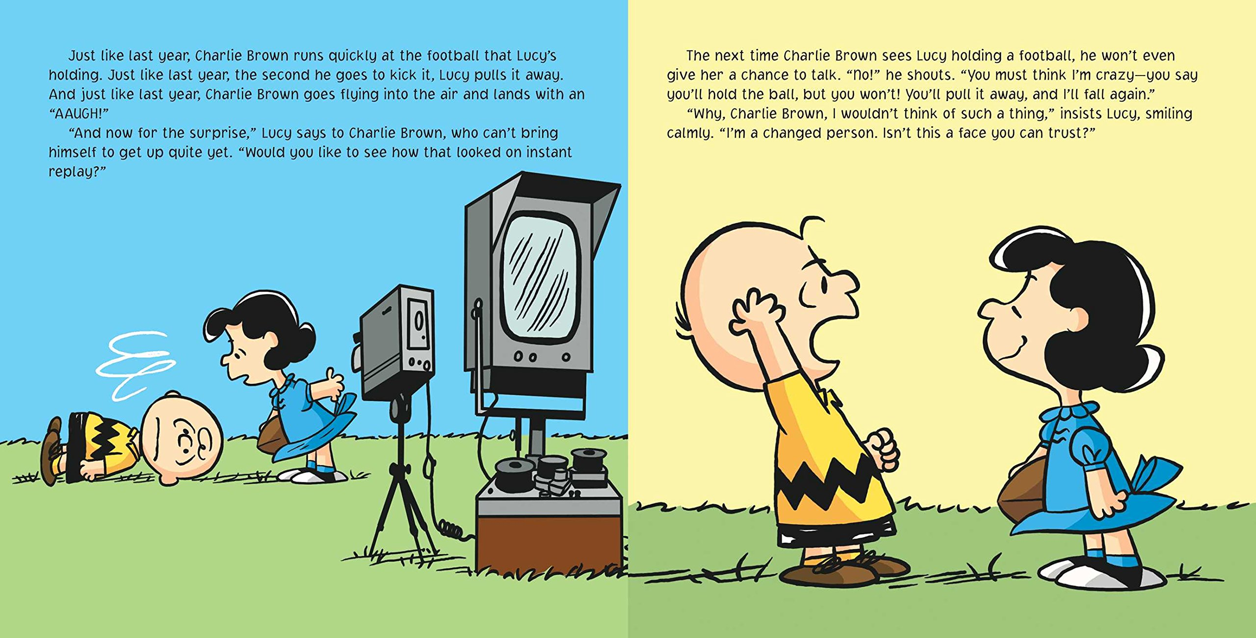 Amazon kick the football charlie brown peanuts charles m amazon kick the football charlie brown peanuts charles m schulz scott jeralds football voltagebd Image collections