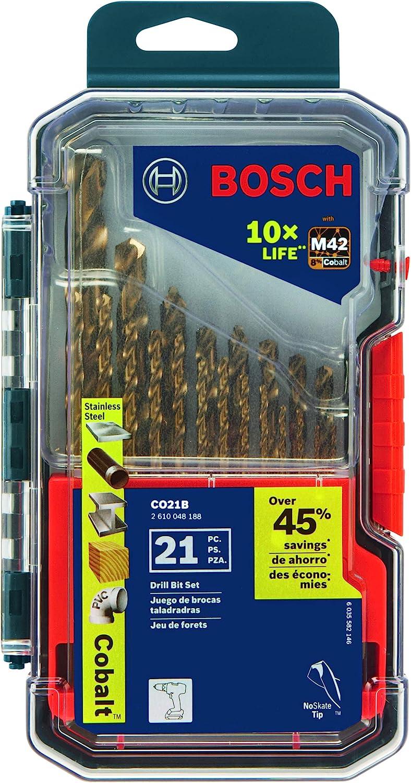 Bosch Cobalt M42 Drill Bit Set