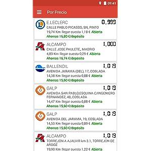 Gasolineras España: Amazon.es: Appstore para Android