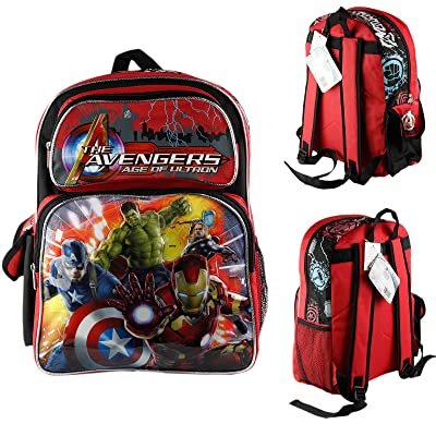 "Brand New Marvel Avengers Age of Ultron 14"" Medium School Backpack Boys Book Bag free shipping"