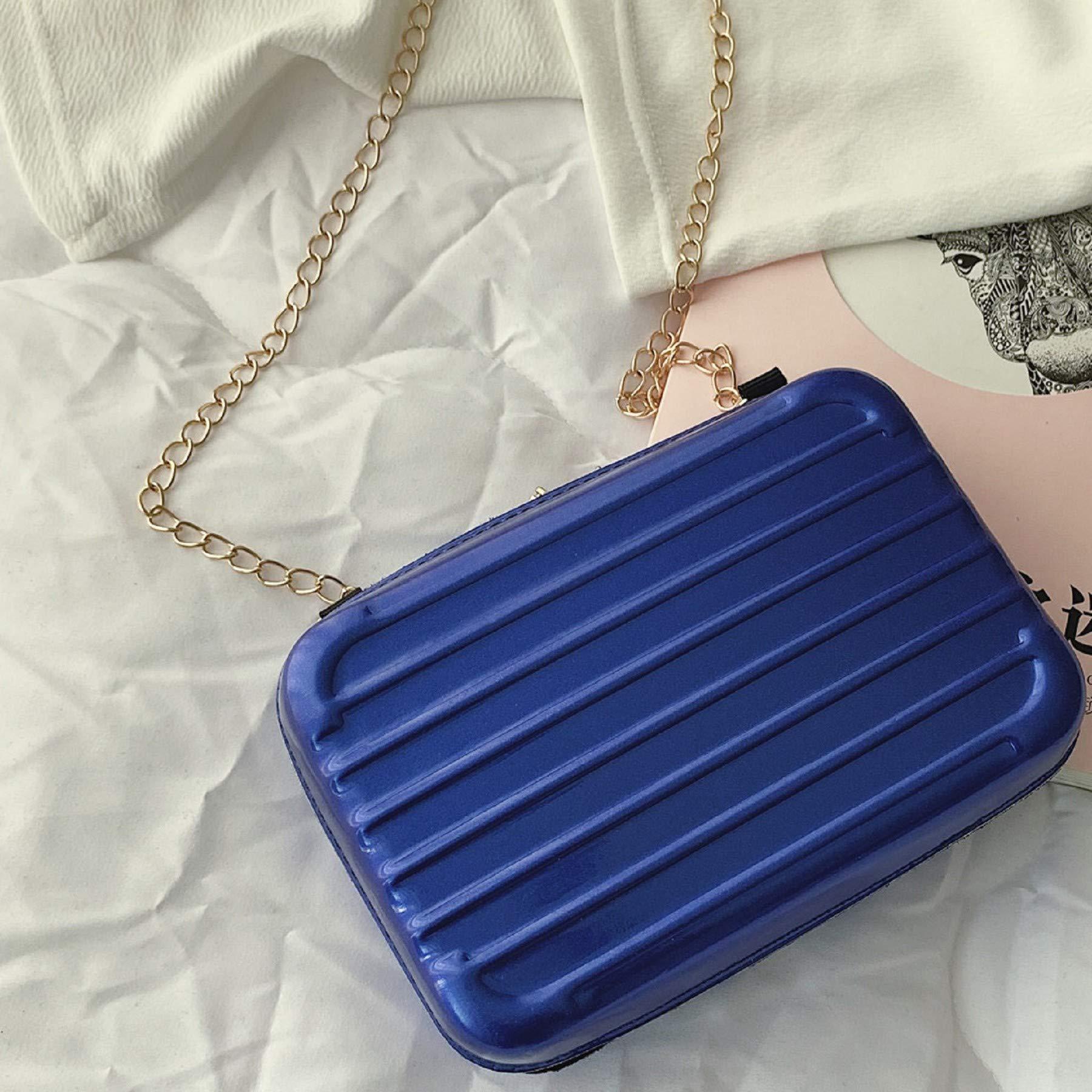 Women Square Bags Leisure Mini Chain Suitcase single-shoulder Bag Messenger Bags by Leedford (Image #2)