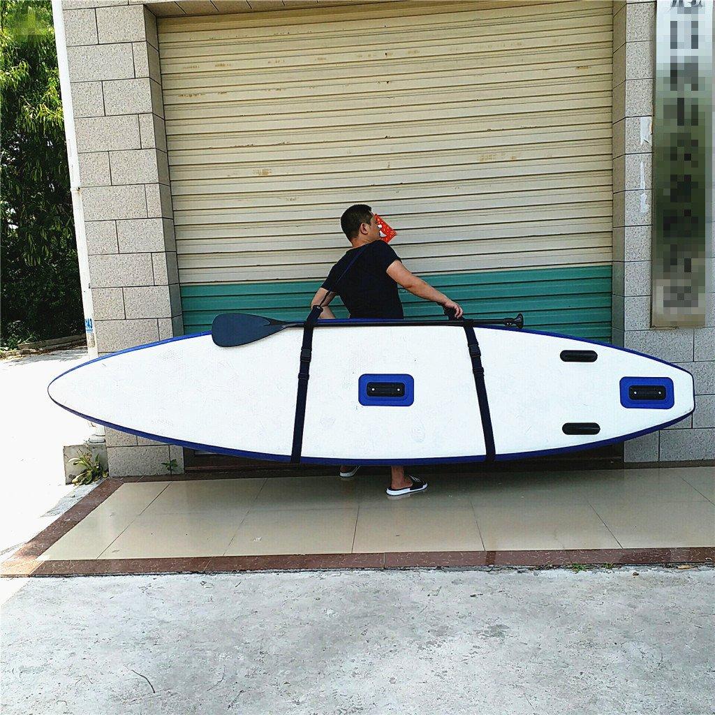 Sharplace 1 Pieza de Correa de Hombro para Transportar Tablas y Paletas de Surf Material Nylon Colores Opcionales - Negro: Amazon.es: Deportes y aire libre