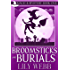 Broomsticks and Burials: Paranormal Cozy Mystery (Magic & Mystery Book 1)