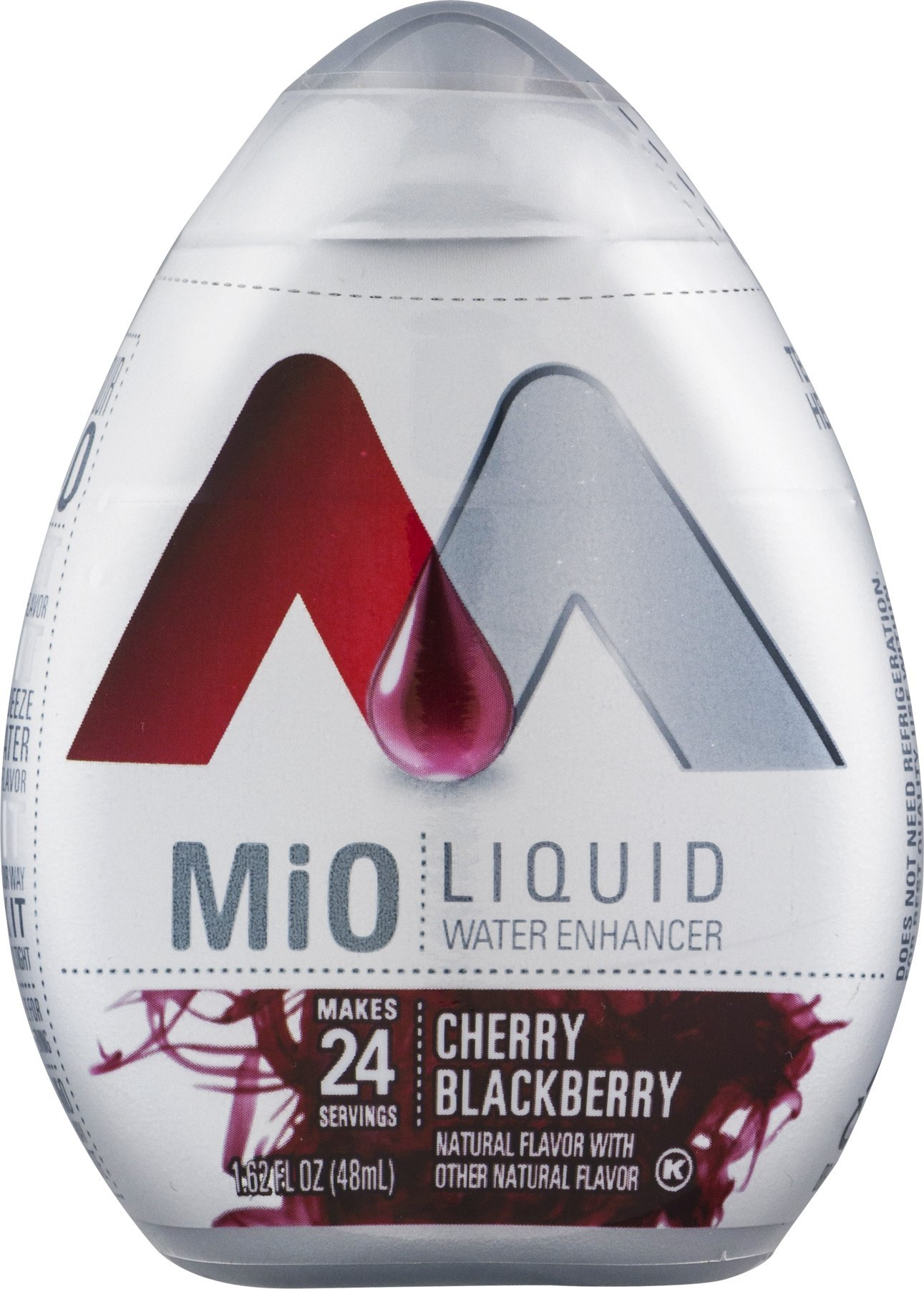 MIO Cherry Blackberry Liquid Water Enhancer pack of 2