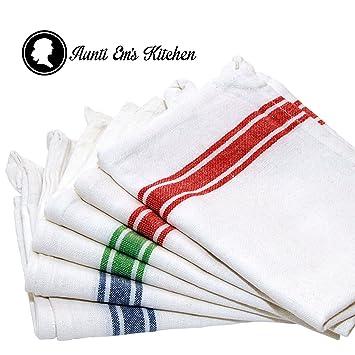 Kitchen Dish Towels With Vintage Design For Kitchen Decor Super Absorbent  100% Natural Cotton Kitchen