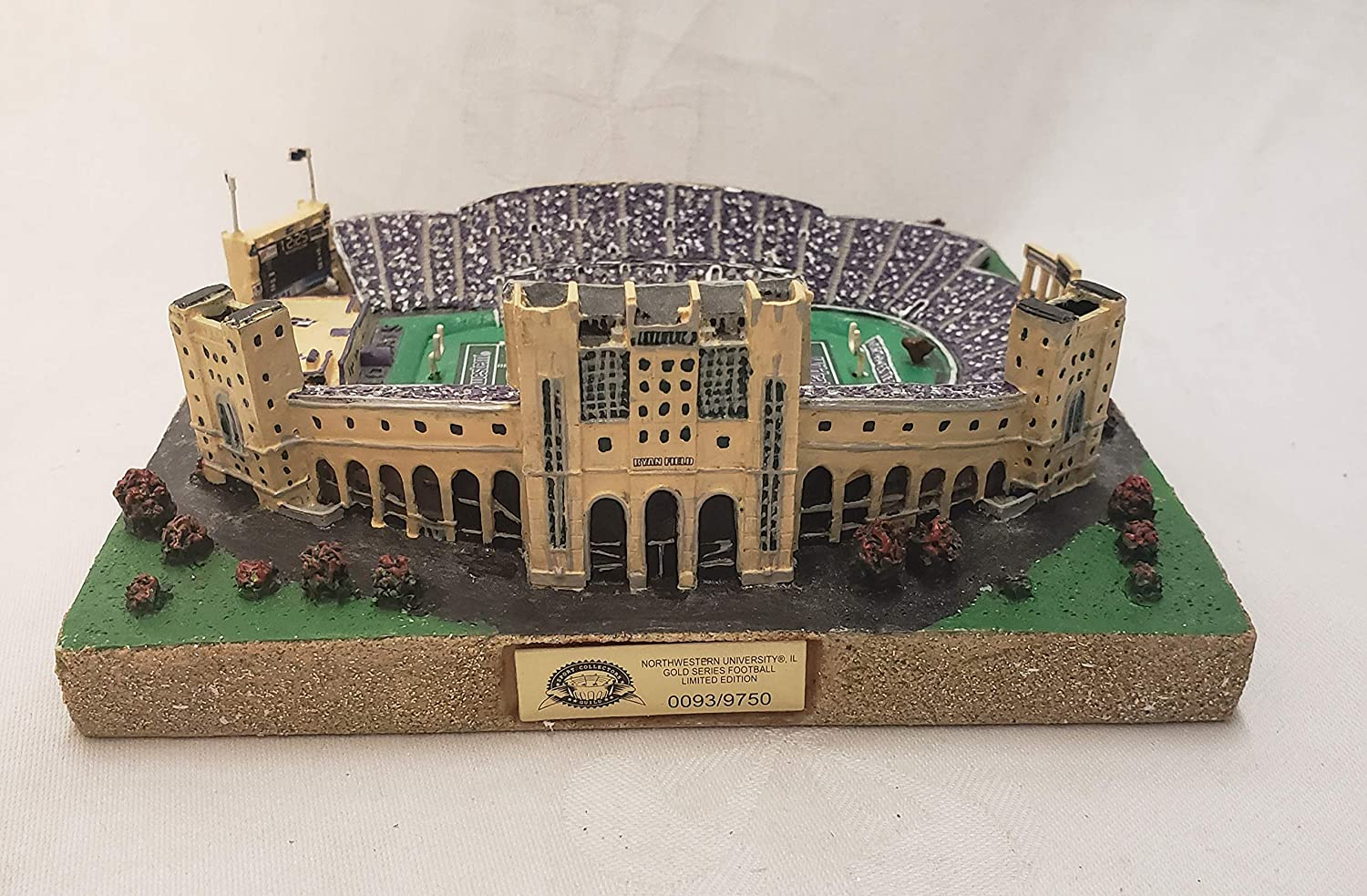 Northwestern University Wildcats Ryan Field Gold Series Stadium Replica